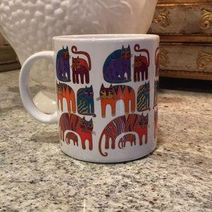 1988 Laurel Burch Fantastic Felines Vintage Mug